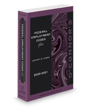 O'Connor's Federal Employment Codes Plus, 2020-2021 ed.