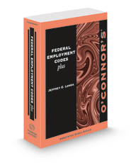 O'Connor's Federal Employment Codes Plus, 2021-2022 ed.