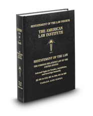 Restatement of the Law, 4th, Foreign Relations Law of the United States
