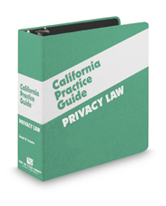 Privacy Law (The Rutter Group California Practice Guide)