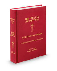 Restatement of the Law Charitable Nonprofit Organizations
