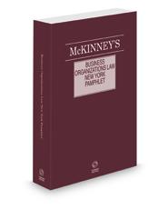 McKinney's New York Business Organizations Law