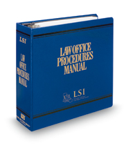 Law Office Procedures Manual
