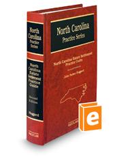 North Carolina Estate Settlement Practice Guide, 2d (North Carolina Practice Series)