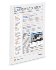 Westlaw Journal Government Contract