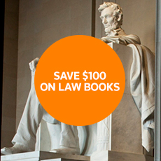SAVE $100 ON LAW BOOKS