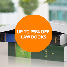 UP TO 25% OFF LAW BOOKS
