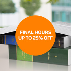 FINAL HOURS – UP TO 25% OFF