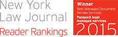 New York Law Journal Reader Rankings Survey 2015 Winner