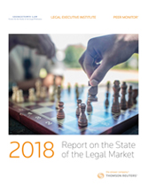 2018 Report on the State of the Legal Market