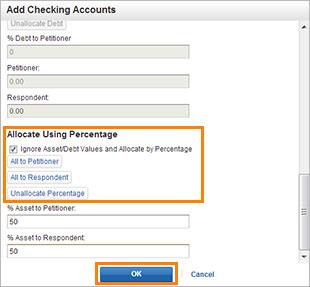 Assets- Edit Checking Account 2 screenshot