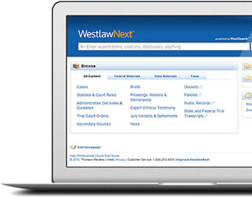 Westlaw screenshot