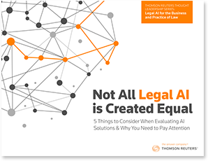 Not all Legal AI is Created Equal