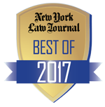 New York Law Journal - Best of 2017