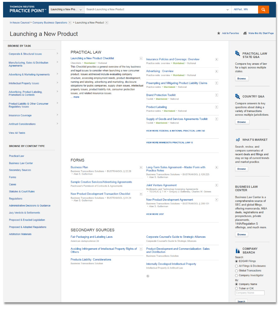 Practice Point - Labor and Employment screen shot