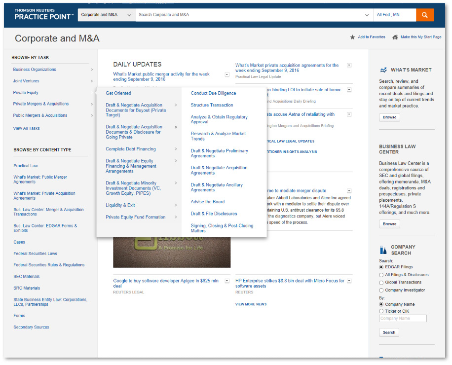 Practice Point - Law firm screen shot 3
