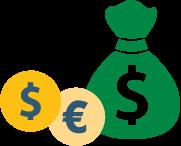 Money bag - icon