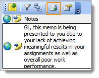 Print Note icon