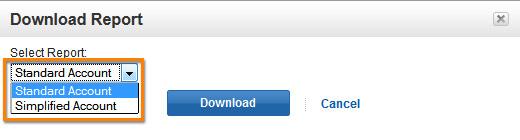 Select Download report